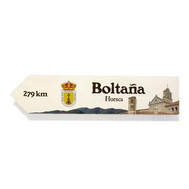 Boltaña, Huesca (Varios diseños)