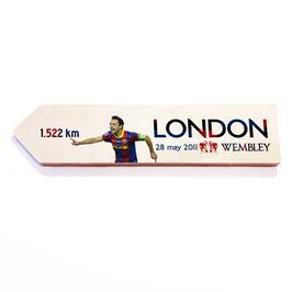 Barcelona, FCB, homenaje Champions Londres 2011 (varios diseños)