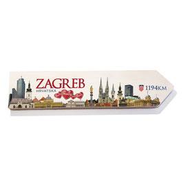 Zagreb, Croacia (varios diseños)