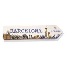 Barcelona (skyline varios diseños)
