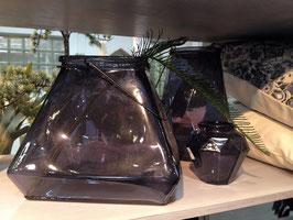 Laterne - Vase SARA quadratisch - AFFARI