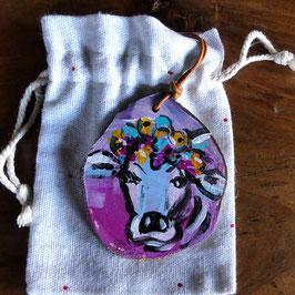 Trachtenschmuck - Kuh 7
