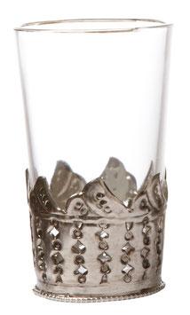 Teelichtglas MARRAKESH - KRONE - AFFARI