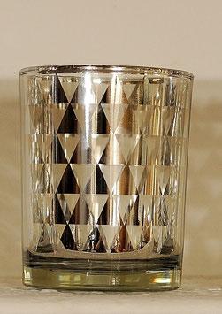 Teelichtglas DREIECK - Light & Living