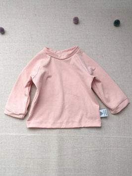 Bio Baumwoll Jersey Langarm Shirt Nude