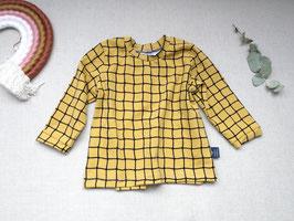 Bio Baumwoll Jersey Langarm Shirt Gr. 92
