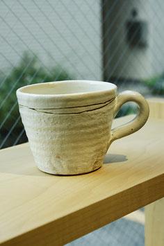 白鉄線 切立マグカップ