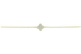 LEPOSA Gelbgold Armband Klee