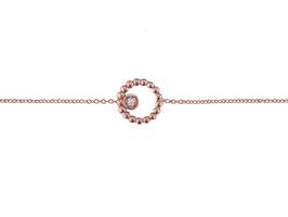 LEPOSA Roségold Armband Kreis