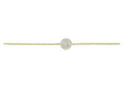 LEPOSA Gelbgold Armband Kreis