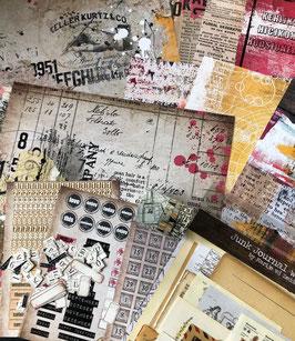 Baddass Junk Journal Kit | by Marije
