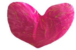 "XXL Aura-Kissen ""Eternal Heart"""