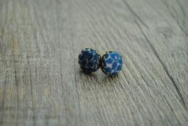 Ohrstecker blaue Blümchen