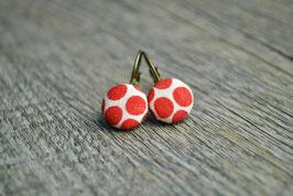 Ohrringe Red Drops