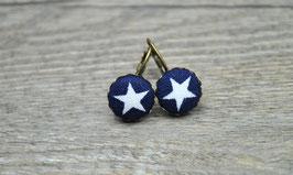 Ohrringe Blue Star