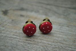 Ohrclips Mini Dots
