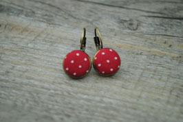 Ohrringe Red Mini Drops