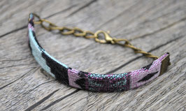 Armband mit Stoffband Aztec 1