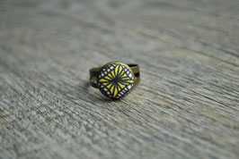Ring Ethno Yellow