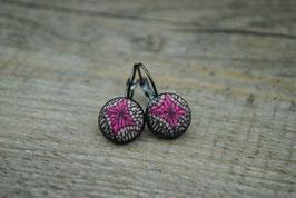 Ohrringe Ethno Pink