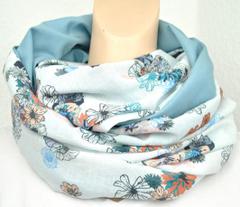 Big Loop Blumenprint Blue