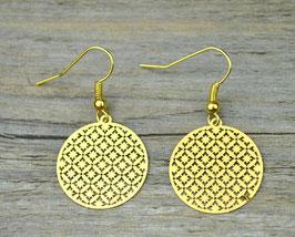 Ohrringe Bohemian Gold Style
