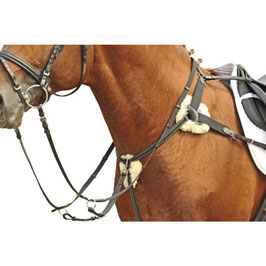 5 point martingale with lambswool  H-4154