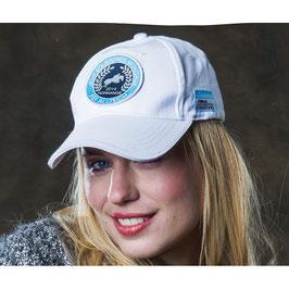 "E-EQUITHÈME ""ALLTECH FEI WORLD EQUESTRIAN GAMES™ 2014 IN NORMANDY"" CAP 993961001(white, navy/blue contrasts,)"