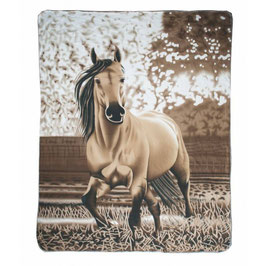 Fleece blanket -Falbe- H-11032