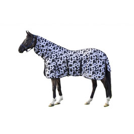 Fly rug with neck -Cow- H- 12449(black/white)