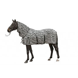 Fly rug -Zebra- with neck H- 4669