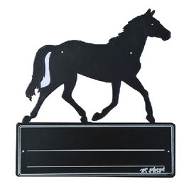 STABLE NAME PLATE -HORSE- 6497