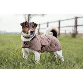 "E-BACK ON TRACK® ""HAZE COLLECTION"" DOG COAT(brown)"