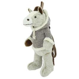 E-EQUI-KIDS HORSE BACKPACK 901400055(chiné beige)