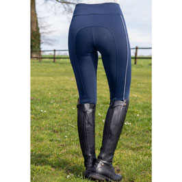 Riding leggings -Equilibrio- Style sil. full seat H-12161