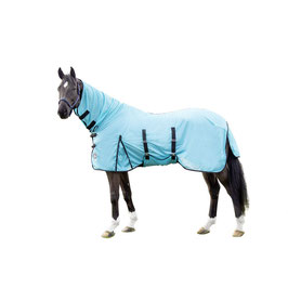 Fly rug with neck part -Aqua- H-12443(aqua)