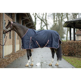 Turnout rug -Kombi- H-12159(deep blue)
