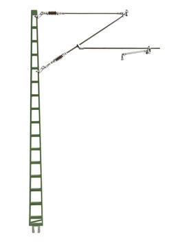 Streckenmast standard