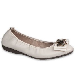 218-020 / NAPPA BEIGE-CREAM / Accessorio Multicolore