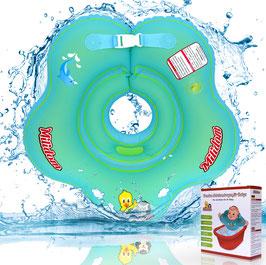Baby Schwimmring für den Hals 0-18 Monate