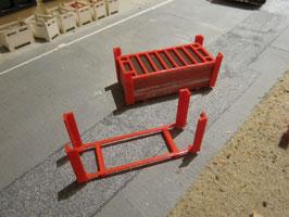 Transportgestelle/transport frames  für Rahmenschalung 1:50!