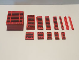 Set - Rahmenschalung, Großraumschalung / Formwork Sets in 3 different sizes
