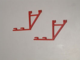 Gerüstkonsolen für Rahmenschalung, Betoniergerüst, Concrete Scaffolding 1:50!