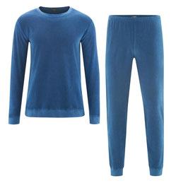 BJÖRN Frottee-Schlafanzug | denimblue