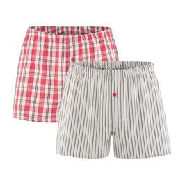 GREGOR | Boxer-Shorts, 2er-Pack (cayenne/natural)