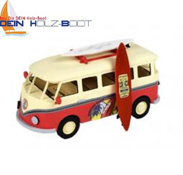 Cooler VW Bus mit Surfboard (EASY-KIT)