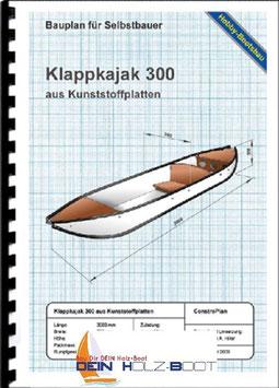 Klappkajak 300 (Marinekunststoff)