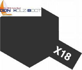 X-18 glanz schwarz