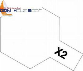 X-2 weiss (glanz)