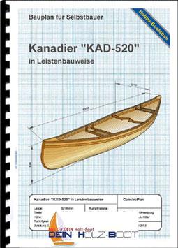 """Kanadier """"KAD-520"""" (Massivholzleisten)"""